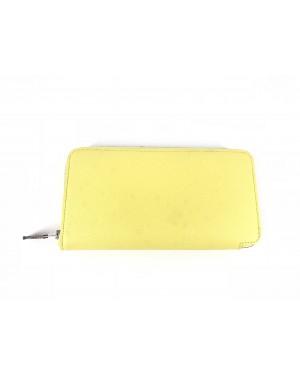 Hermes Wallet Yellow 90% NEW 20cm x 10cm