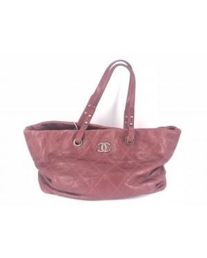 Chanel Bag Red 90%NEW 24cm x 38cm