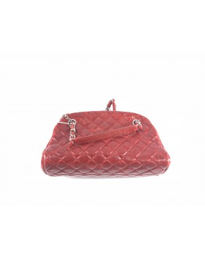 Chanel TOTE BAG(H\L) 90% NEW RED 14cm x 28cm