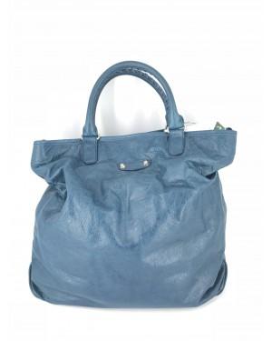 BALENCIAGA bag Blue NEW 38cm x 42xm