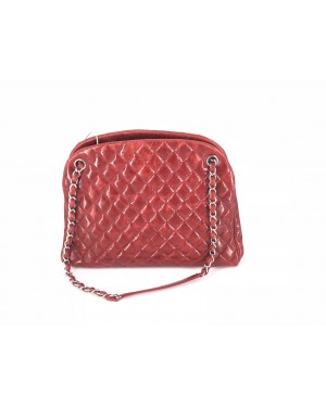 Chanel TOTE BAG RED 90% NEW 24cm x 34cm